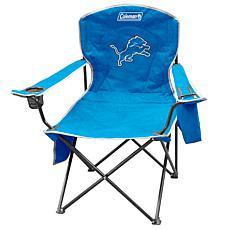 NFL Quad Chair with Armrest Cooler - Lions