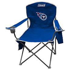 NFL Quad Chair with Armrest Cooler - Titans