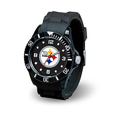 NFL Spirit Rubber Strap Watch - Pittsburgh Steelers