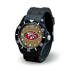 NFL Spirit Rubber Strap Watch - San Francisco 49ers