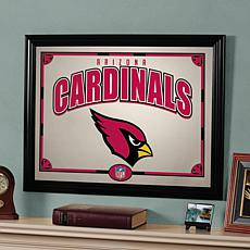 NFL Sports Team Framed Mirror - Arizona Cardinals