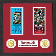 NFL Tampa Bay Buccaneers 2-Time Super Bowl Champions Ticket Collection