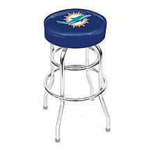 "NFL Team Logo Double-Ring 30"" Swivel Bar Stool"