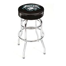 "NFL Team Logo Double-Ring 30"" Swivel Bar Stool - Eagles"