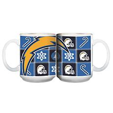 NFL Ugly Sweater Mug - Los Angeles Chargers