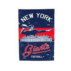 NFL Vintage Linen Garden Flag - Giants