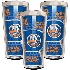 NHL 3-piece Shot Glass Set - Islanders