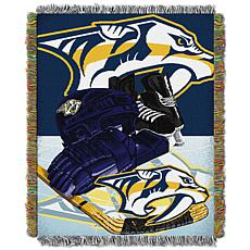 NHL Home Ice Advantage Tapestry Throw - Predators