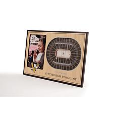 NHL Pittsburgh Penguins 3-D Stadium Views Picture Frame