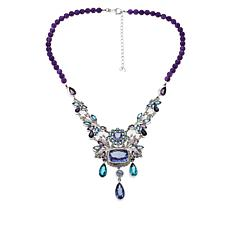 Nicky Butler Raj Amethyst and Multigem Necklace