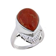 Nicky Butler Sponge Coral Hammered Ring