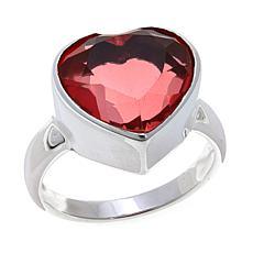 Nicky Butler  Watermelon Quartz Triplet Heart Ring