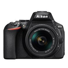 Nikon D5600 DSLR Camera with 2 Lenses and 16GB Memory Card