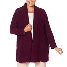 Nina Leonard Cozy Knit Cardigan with Pockets