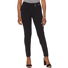 Nina Leonard High Tech Crepe Narrow Leg Pant