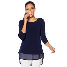 Nina Leonard High/Low Tunic