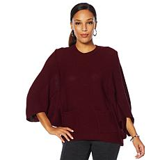 Nina Leonard Sweater with Front Pockets