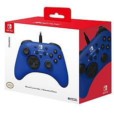 Nintendo Switch HORIPAD Wired Controller - Blue