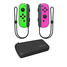 Nintendo Switch Joy-Con Controllers with Hard Shell Case