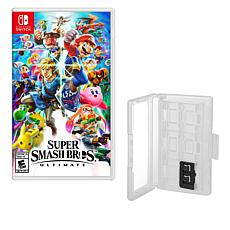 Nintendo Switch Super Smash Bros. with Game Caddy
