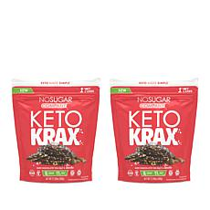 No Sugar Keto (2) 17.28 oz. Keto Krax