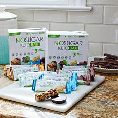 No Sugar Keto Bars 12-count with Try Me