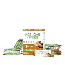 No Sugar Keto Bars 12-pack Chocolate Peanut Butter Auto-Ship®