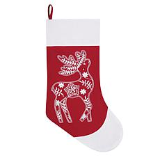 Nordic Deer Stocking