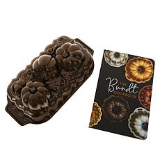 Nordic Ware Botanical Pumpkin Loaf Pan and Bundt Cookbook