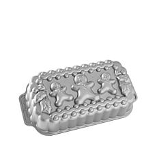 Nordic Ware Cast Aluminum Gingerbread Family Loaf Pan