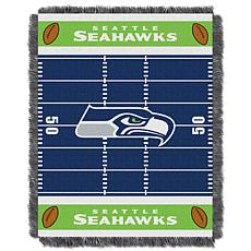 Northwest Company Officially Licensed NFL Field Baby Throw - Seahawks