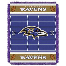 Northwest Company Officially Licensed NFL Field Baby Throw - Ravens
