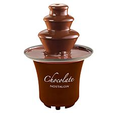 Nostalgia 3-Tier .5-Pound Chocolate Fondue Fountain