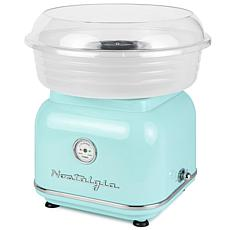 Nostalgia Classic Hard and Sugar-Free Candy Cotton Candy Maker - Aqua