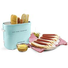 Nostalgia Hot Dog Toaster - Aqua