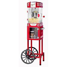 Nostalgia Retro 2.5 oz. Popcorn Cart in Red