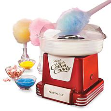 Nostalgia Retro Hard and Sugar-Free Candy Cotton Candy Maker