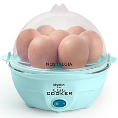 Nostalgia Retro Premium 7-Egg Cooker in Aqua