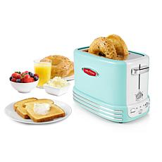 Nostalgia Retro Series 2-Slice Toaster in Aqua