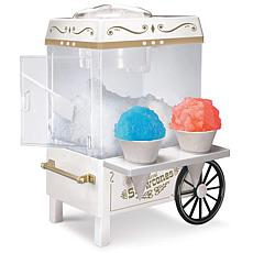 Nostalgia Snow Cone Maker in White