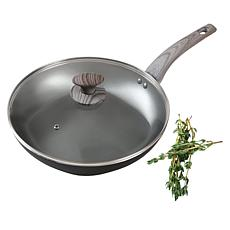 "Not a Square Pan 12"" Nonstick Frypan with Cover"