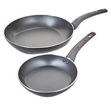 "Not a Square Pan 8"" and 12"" Nonstick Fry Pan Set"