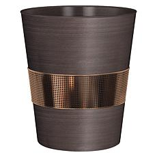 Nu-Steel Selma Oil-Rubbed Bronze Wastebasket
