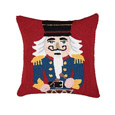 Nutcracker Drummer Boy Hooked Pillow