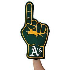 Oakland Athletics Plushlete Fan Finger Pillow