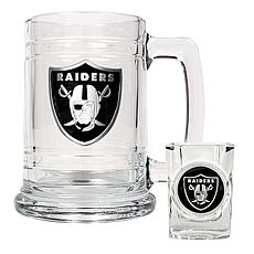 Oakland Raiders Boilermaker Set
