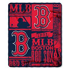 Official MLB Strength Fleece Throw - Boston Red Sox