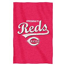 Official MLB Sweatshirt Throw by Northwest - Reds