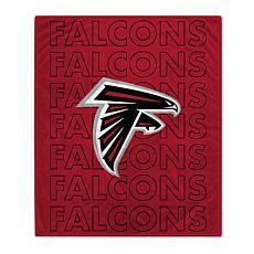 "Officially Licensed 60"" x 70"" Prima Fleece Echo Throw Blanket- Falcons"