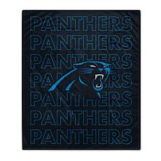 """Officially Licensed 60""""x70"""" Prima Fleece Echo Throw Blanket - Panth..."""